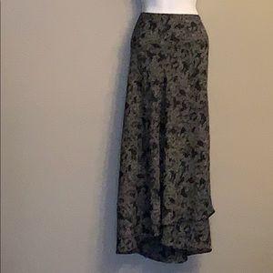 Lane Bryant Black Stretch Plus Size 22/24 Skirt